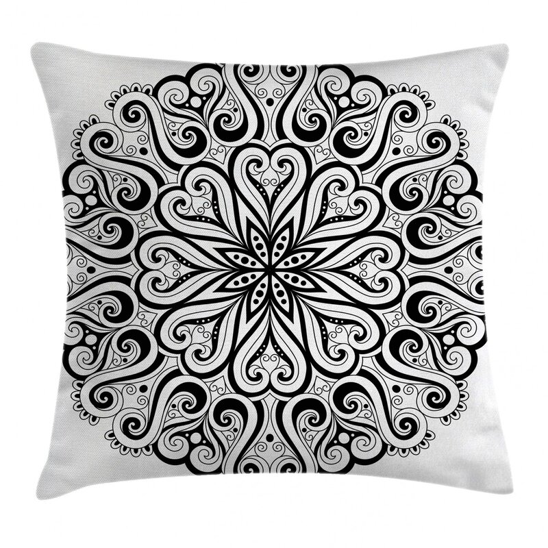 East Urban Home Cosmos Traditional Meditation Indoor Outdoor 26 Throw Pillow Cover Wayfair