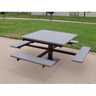 Check Prices Recycled Plastic Picnic T-Table Best Deals