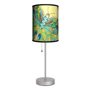Find Artist Cole Gerst Butterfly 20 Table Lamp By Lamp-In-A-Box
