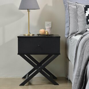 Brand Bedside 1 Drawer Nightstand