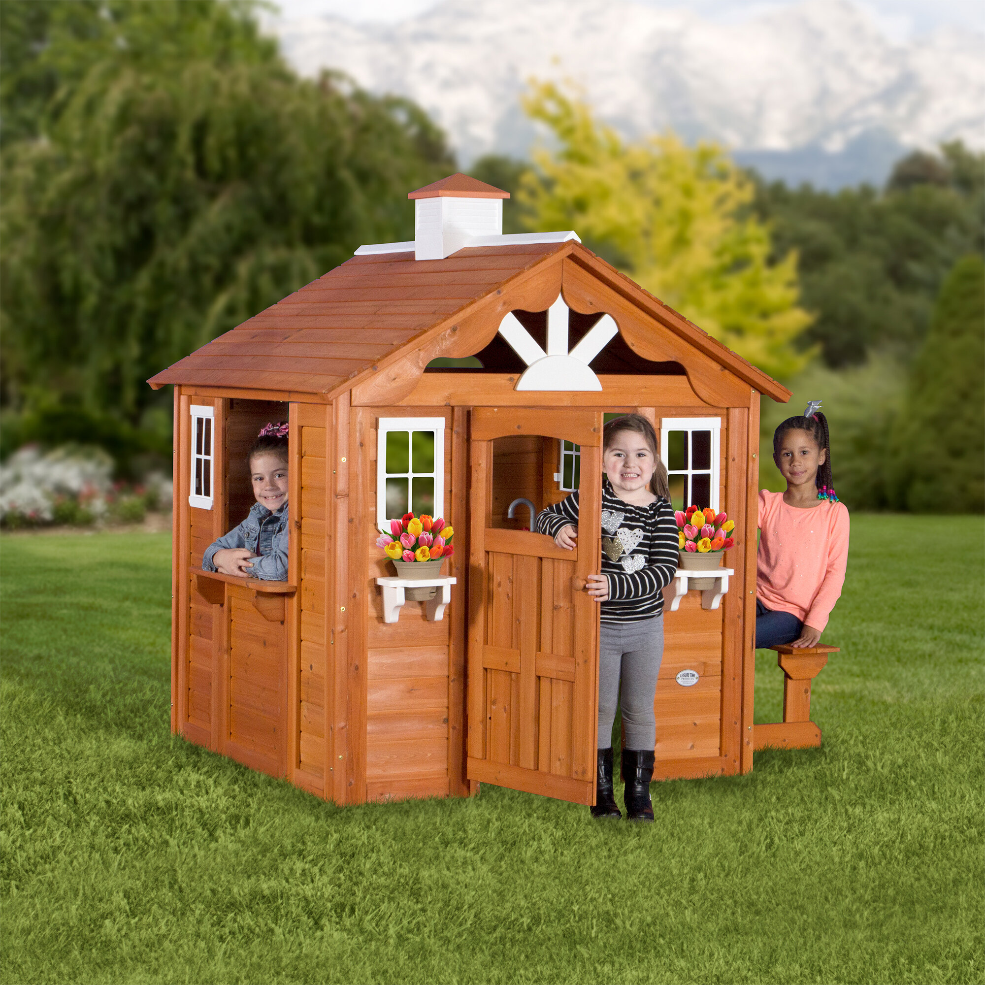 Backyard Discovery Summer Cottage 6 X 484 Playhouse Reviews