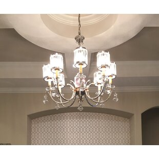 Astoria Grand Rodrigo 8-Light Shaded Chandelier