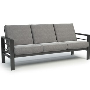 Gale Low Back Patio Sofa with Sunbrella Cushions