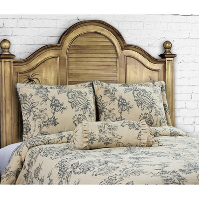 14 Karat Home Inc French Country 3 Piece Duvet Cover Set Size King Color Indigo