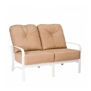 Woodard Fremont Loveseat with Cushions
