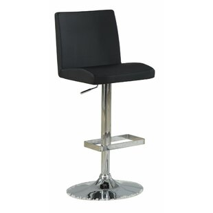 Orren Ellis Woolridge Simple Adjustable Height Swivel Bar Stool (Set of 2)