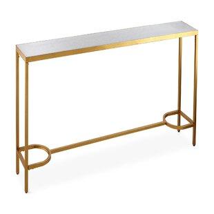 Nakasa Mirranez Marble Console Table