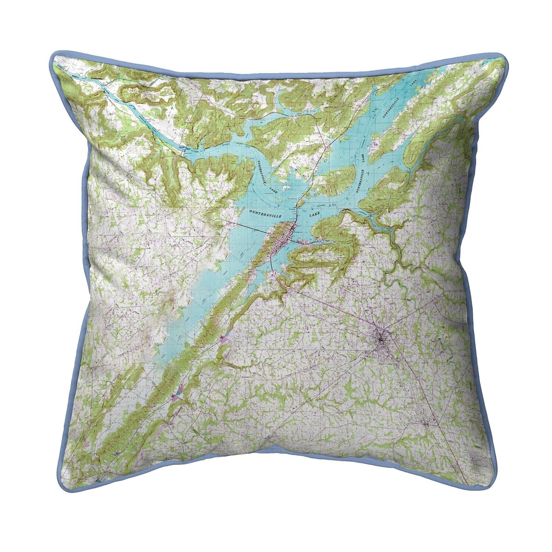 Sensational Lake Guntersville Al Corded Indoor Outdoor Throw Pillow Pdpeps Interior Chair Design Pdpepsorg