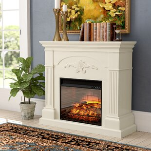 Contreras Infrared Fireplace by Alcott Hill