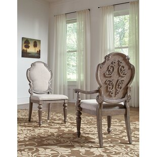 Braddy Upholstered Dining Chair (Set of 2) Astoria Grand