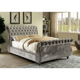 House of Hampton Hatfield Upholstered Sleigh Bed