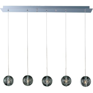 ET2 Orb 5-Light Kitchen Island Pendant