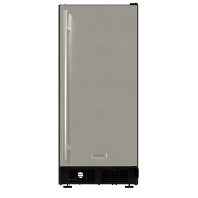 """15"""""""" 25 lb. Daily Production Built-In Ice Maker Marvel Finish: Stainless -  ML15CRS1XS"""