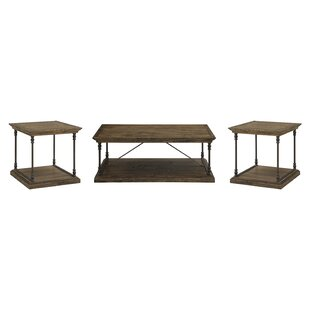 Mabie 3 Piece Coffee Table Set by Trent Austin Design