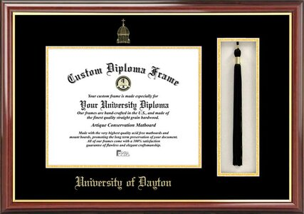 Campus Images Ncaa Tassel Box And Diploma Picture Frame