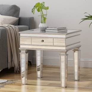 Calton End Table with Storage by House of Hampton