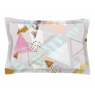 Mmartabc 'Abstract Triangles Texture' Digital Sham