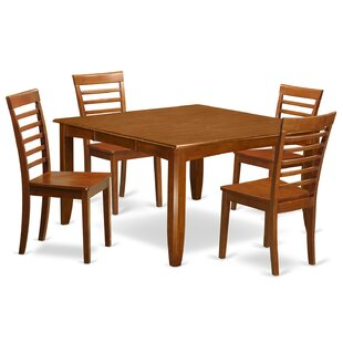 Parfait 5 Piece Extendable Dining Set by Wooden Importers Looking for