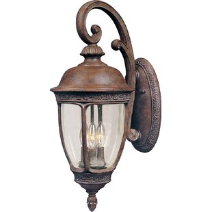 Darby Home Co Anneliese 3-Light Outdoor Wall Lantern