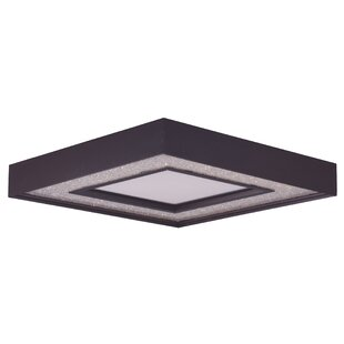 Orren Ellis Ciaran 1-Light Metal Flush Mount