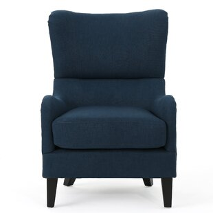 Brand-new Light Blue Wingback Chair | Wayfair OQ25