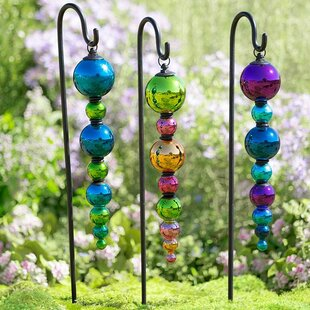 Glass Finial Ornament (Set Of 2)