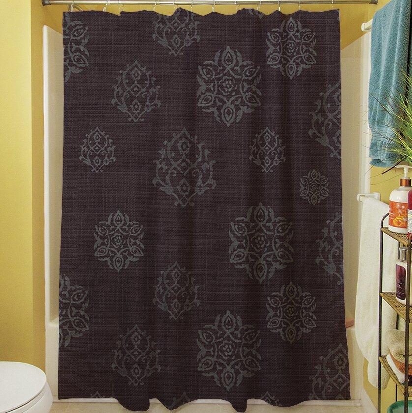 Manual Woodworkers Weavers Flowing Medallion Single Shower Curtain Wayfair
