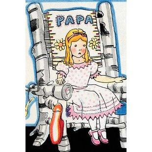 Charmant U0027Goldilock Tries Papa Bearu0027s Chairu0027 By Julia Letheld Hahn Painting Print