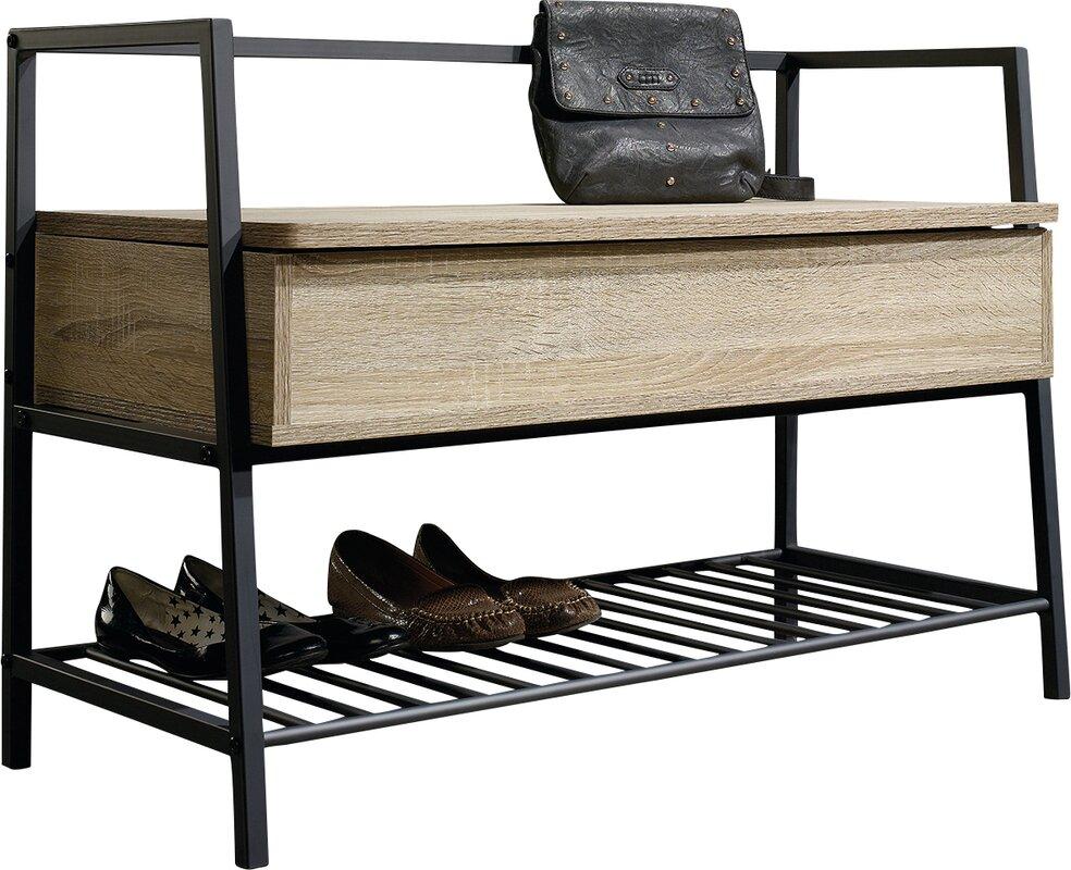 ermont storage entryway bench