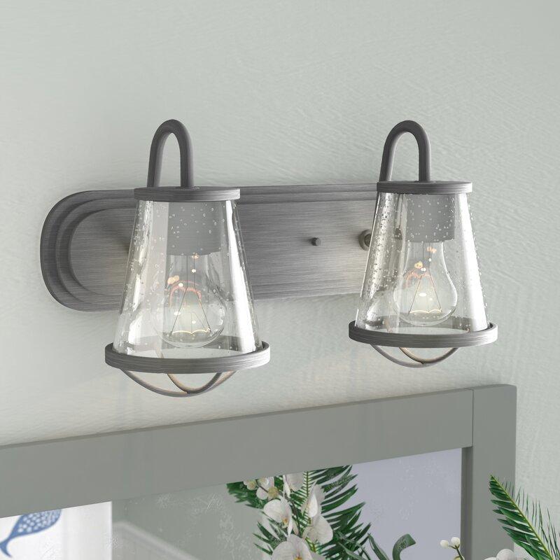 Regan 2 Light Vanity Light Amp Reviews Birch Lane