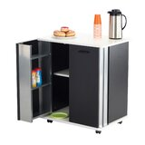 Mayfair Kitchen Cart by Rebrilliant