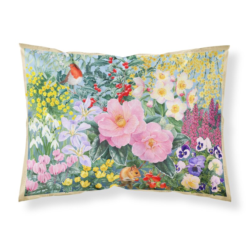 Trinx Winter Floral Pillowcase Wayfair Ca