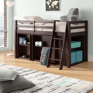 Kwinana Twin Bed with Desk and Bookcase by