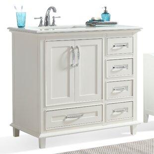 Ariana 37 Single Bathroom Vanity Set by Simpli Home