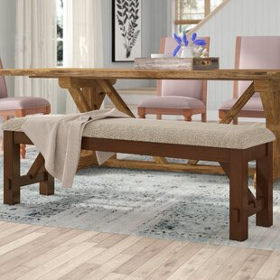 Laurel Foundry Modern Farmhouse Isabell Upholstered Bench