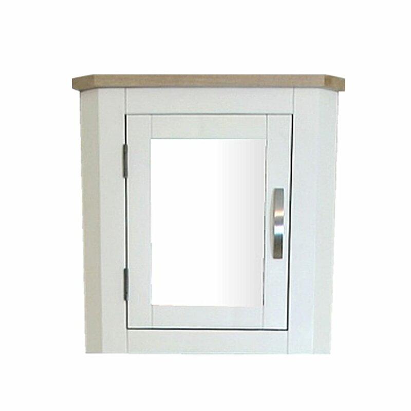 Brambly Cottage Ebert 30cm W X 45cm H X 25cm D Solid Wood Wall Mounted Bathroom Cabinet Wayfair Co Uk