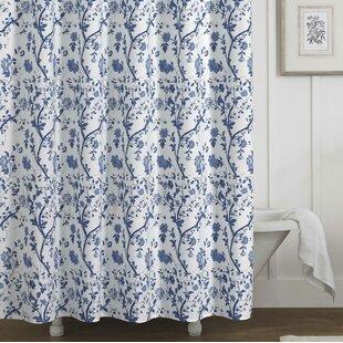 Charlotte 100 Cotton Single Shower Curtain