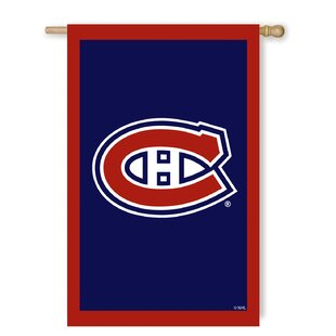 NHL 1'6 H x 1'.5 W House Flag by Team Sports America