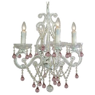 House of Hampton Chon 4-Light Crystal Chandelier