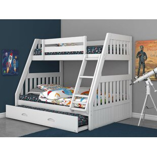 Herculaneum Twin over Full Bunk Bed with Trundle