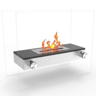Jacqueline Ventless Bio-Ethanol Fireplace By Orren Ellis