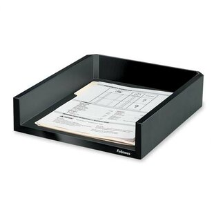 Fellowes Mfg. Co. Letter Tray, Holds Letter/A4 Paper, 11-1/8