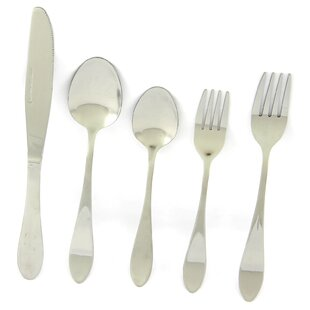 Lalonde 20 Piece Flatware Set, Service for 4