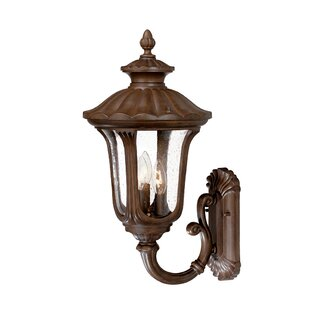Charlton Home Princeton 3-Light Outdoor Sconce