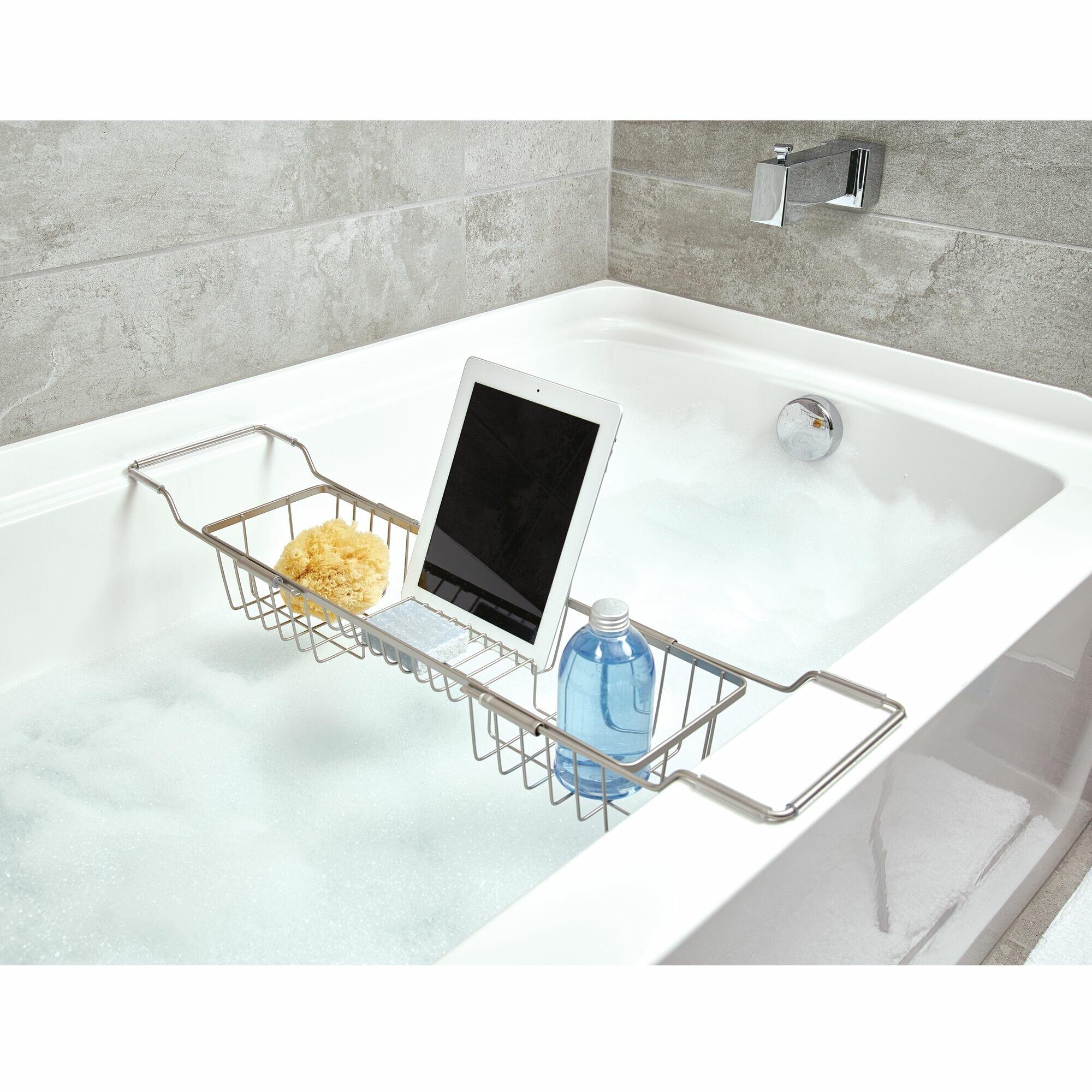 Idesign Everett Adjule Over Bathtub