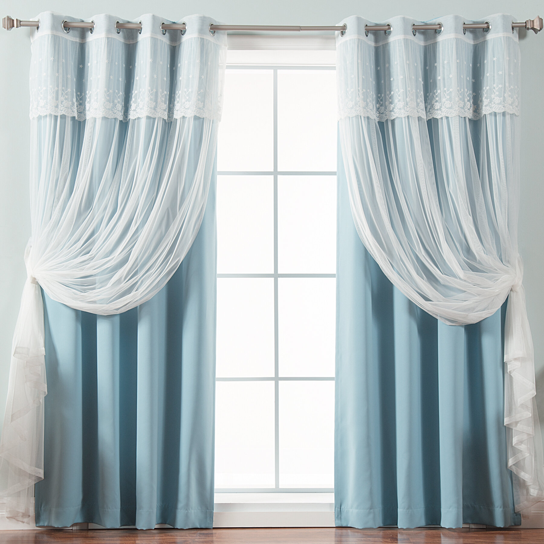 living home decor blackout mint and interior curtain panels r liner drape bath goods decorating kitchen drapes pocket inch rod for curtains beyond bed grommet