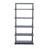 Ambriz 75 H x 34 W Metal Etagere Bookcase by 17 Stories