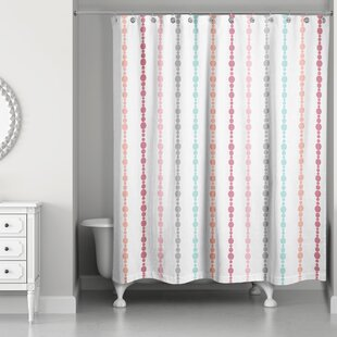 Norgate Dream Beads Single Shower Curtain by Red Barrel Studio #2