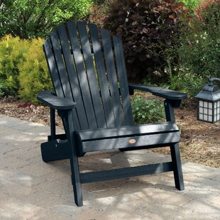 Camacho King Plastic Folding Adirondack Chair