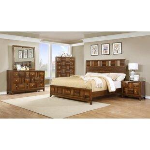 Calais Panel 5 Piece Bedroom Set